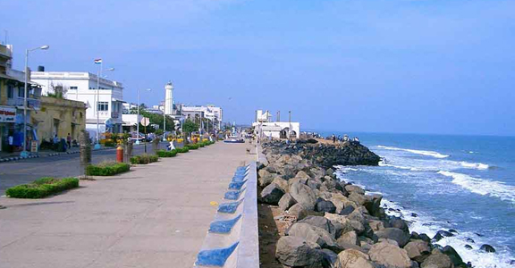 Mahe Beach, Pondicherry